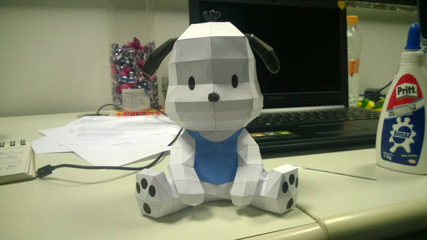 Pochacco (Hello Kitty) Papercraft