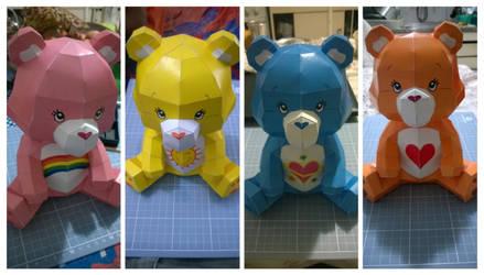 Care Bears PaperCraft