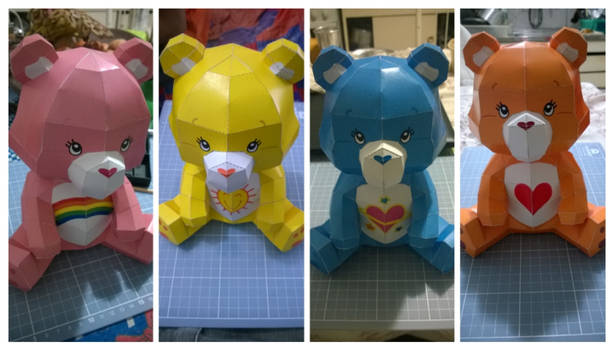 Care Bears PaperCraft
