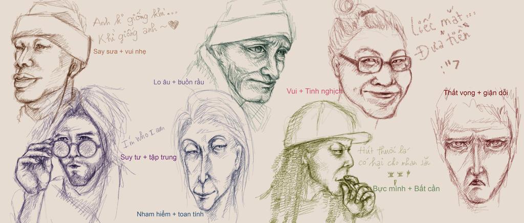 Caricature Portraits by VeTsukuboshi