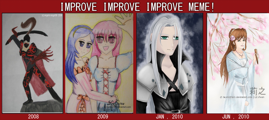 Improvement Meme. by lizjowen