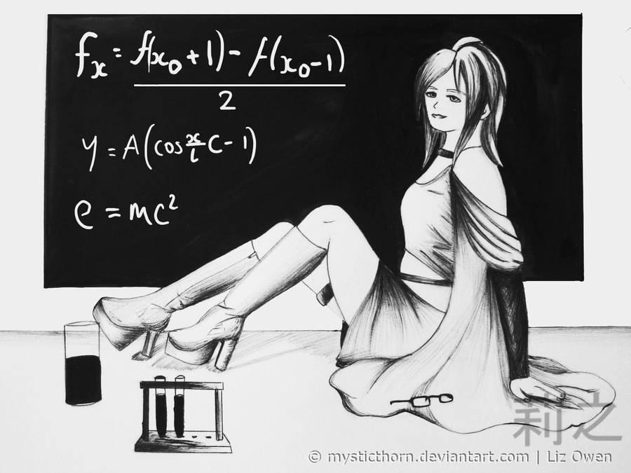 The Scientist. by lizjowen