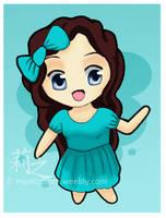 Amy-chan. by lizjowen