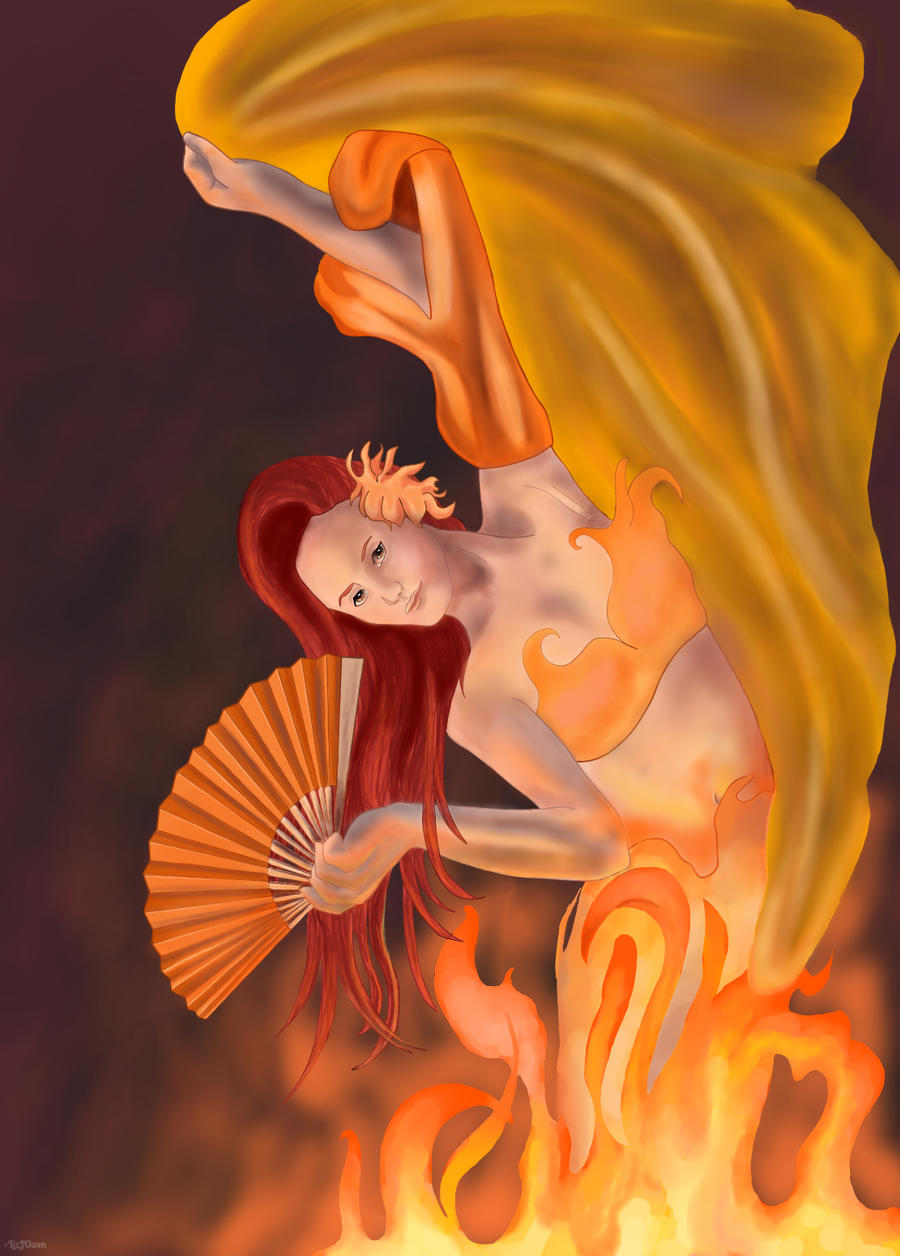 Dance of the Flames by lizjowen