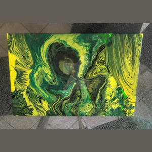 Acrylic pouring 4