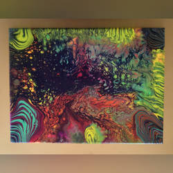 Acrylic pouring 6