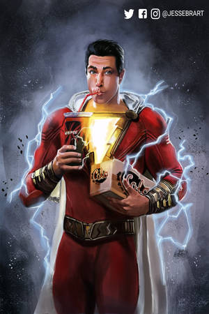 I'm so excited for watching Shazam by OnigiriKouta