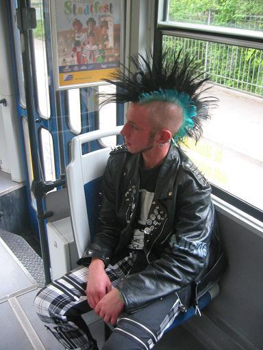 peinados punk screen