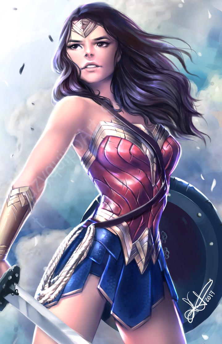 Wonder Woman!!! by SuzyQ1417