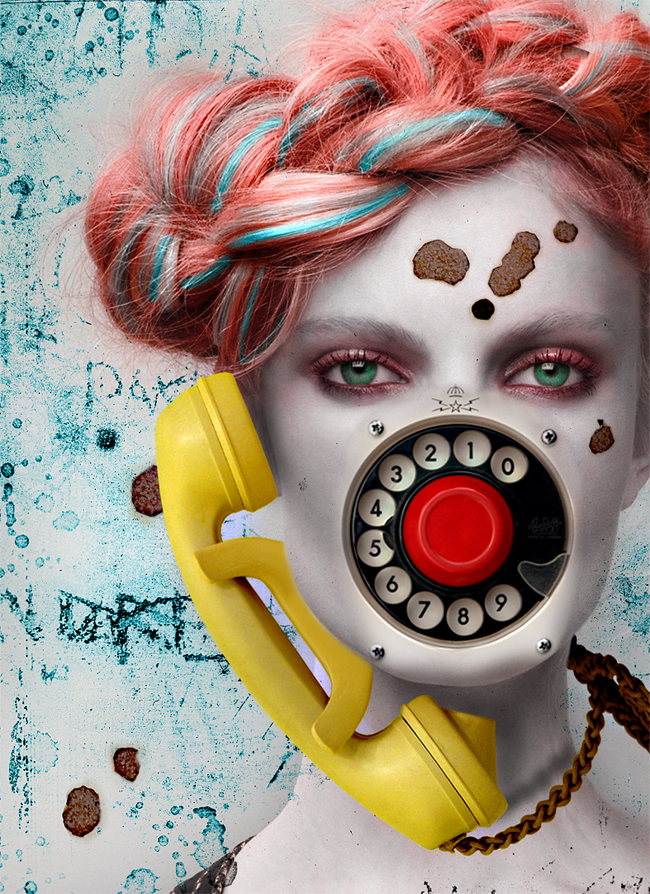 lady phonecall by dolcebabanne