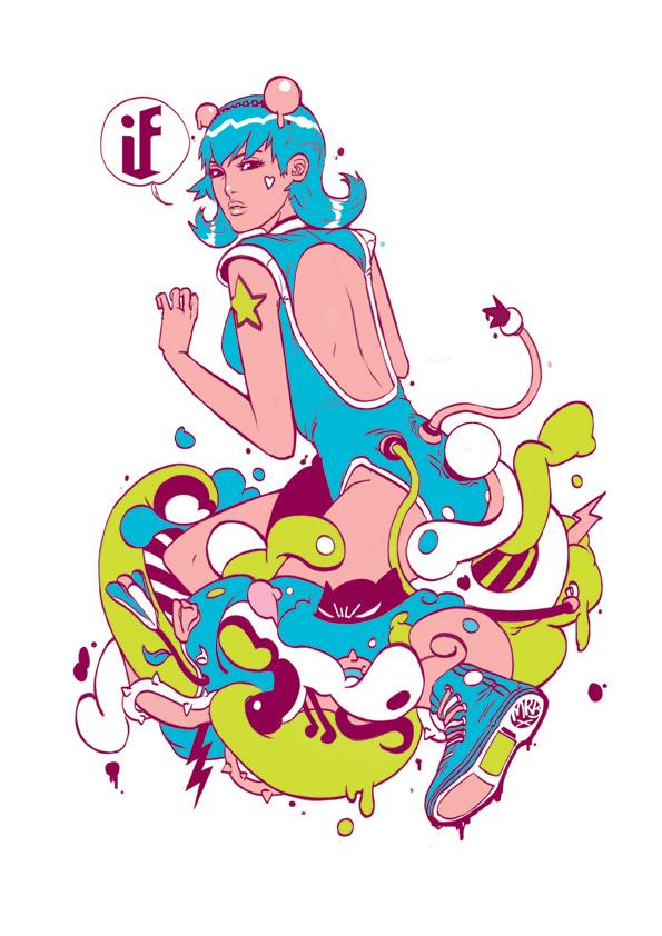 Wanda Tee by BENQWEK