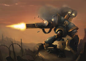Warmachine - Sentinel by BENQWEK