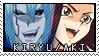 YGO - Kiryu x Aki Stamp by KarniMolly