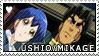 YGO - Ushio x Mikage Stamp by KarniMolly