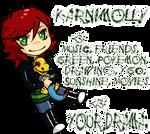 YGO OC - Mani and Monoloph