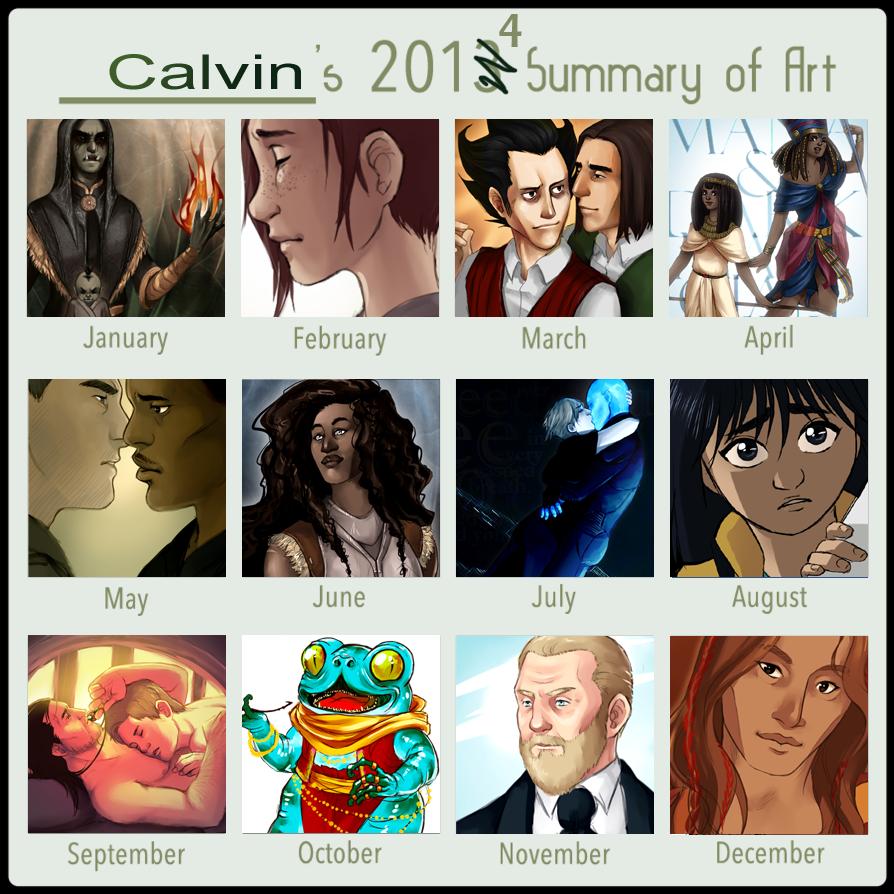 My 2014 Summary of Art by KarniMolly