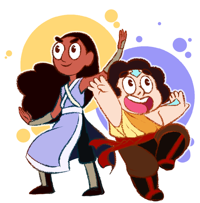 Connie + Steven - Saving the world TOGETHER by KarniMolly