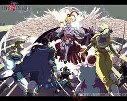 Final Fantasy VI by HeavyMetalHanzo