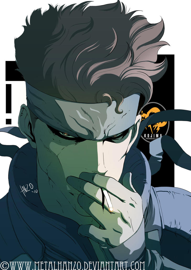 Solid Snake by HeavyMetalHanzo