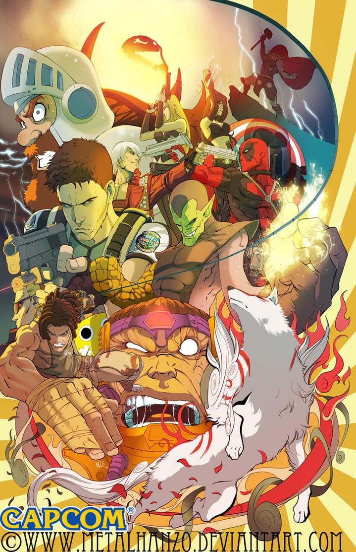 Marvel Vs Capcom3 by HeavyMetalHanzo