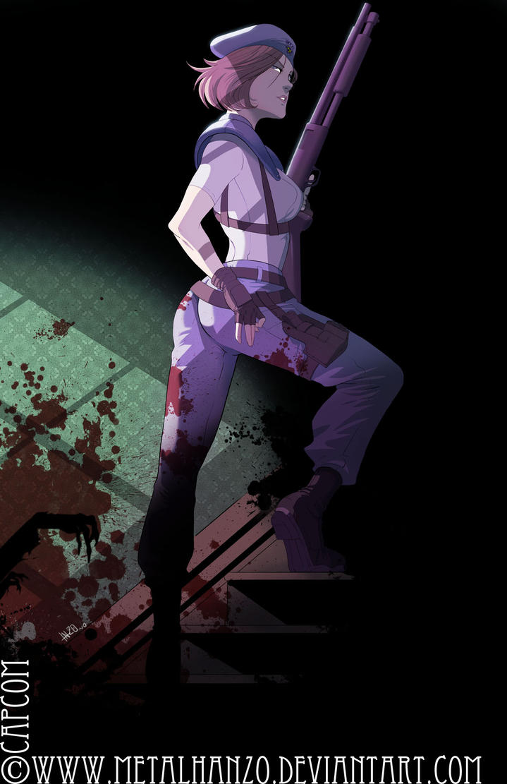 Jill Valentine by HeavyMetalHanzo