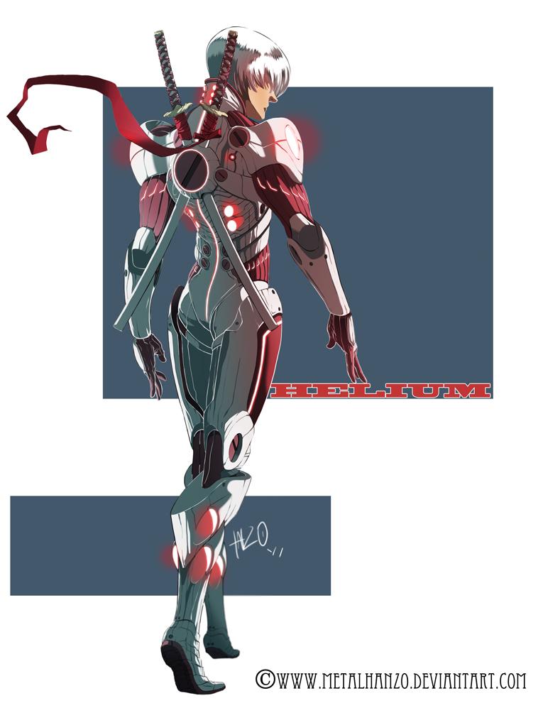 N.E.O.N. Manga-Helium by HeavyMetalHanzo