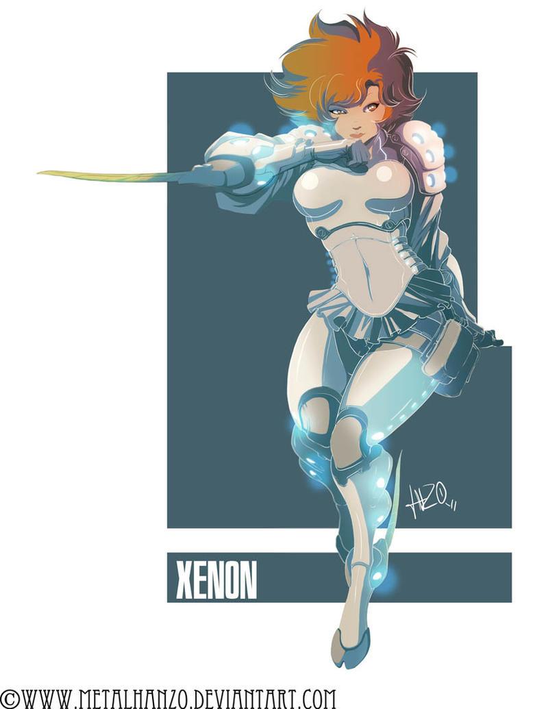 Neon Manga -Xenon- by HeavyMetalHanzo