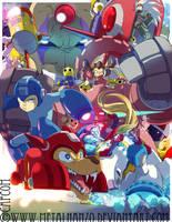 Megaman Tribute by HeavyMetalHanzo
