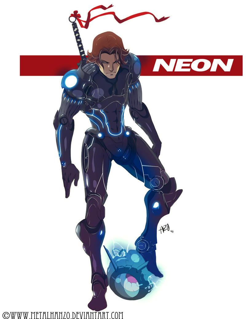 N.E.O.N.Manga -Neon- by HeavyMetalHanzo