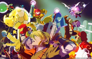 Super Smash Bros...What If. by HeavyMetalHanzo