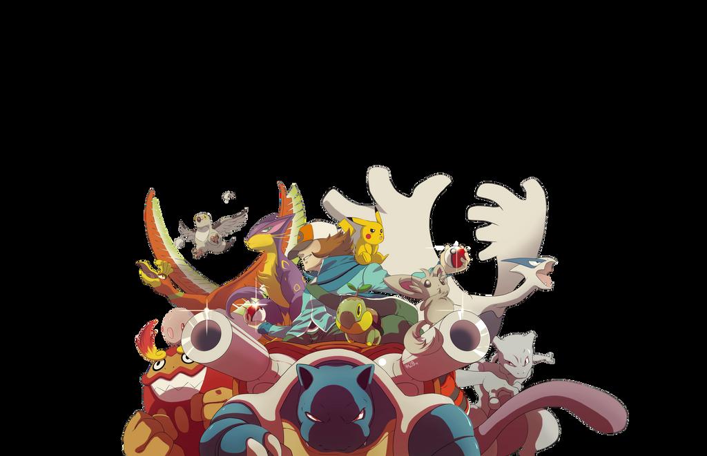 Pokemon community gift by HeavyMetalHanzo
