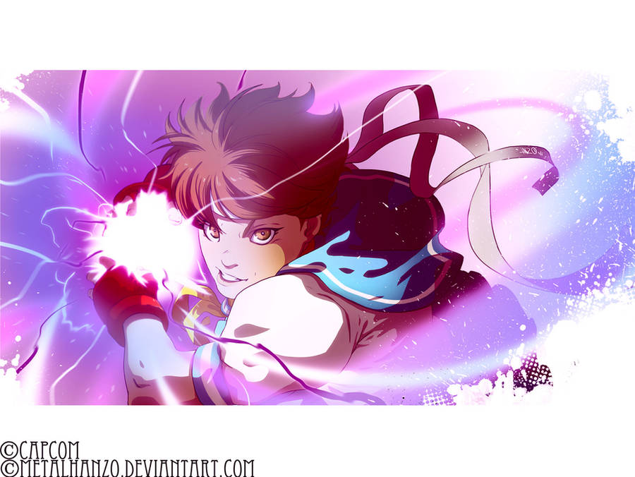Street Fighter-Sakura by HeavyMetalHanzo
