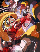 MegaMan tribute Z-Overdrive by HeavyMetalHanzo