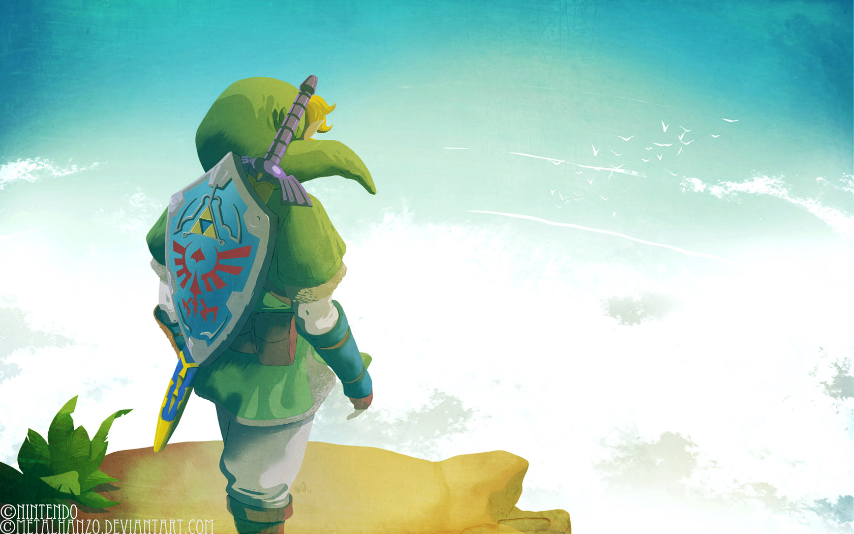 Skyward Sword by HeavyMetalHanzo