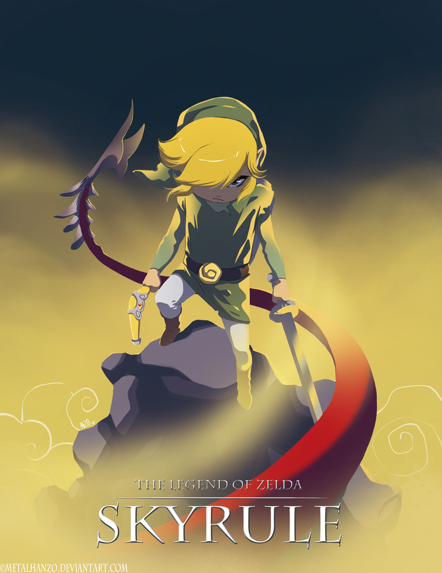 The Legend of Zelda-Skyrule by HeavyMetalHanzo
