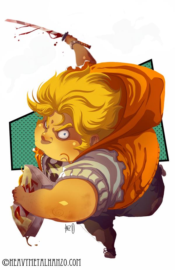 The Fat Ninja by HeavyMetalHanzo