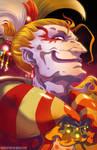 Final Fantasy VI - Kefka by HeavyMetalHanzo