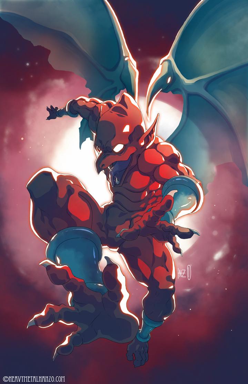 Demon's Crest-Firebrand by HeavyMetalHanzo