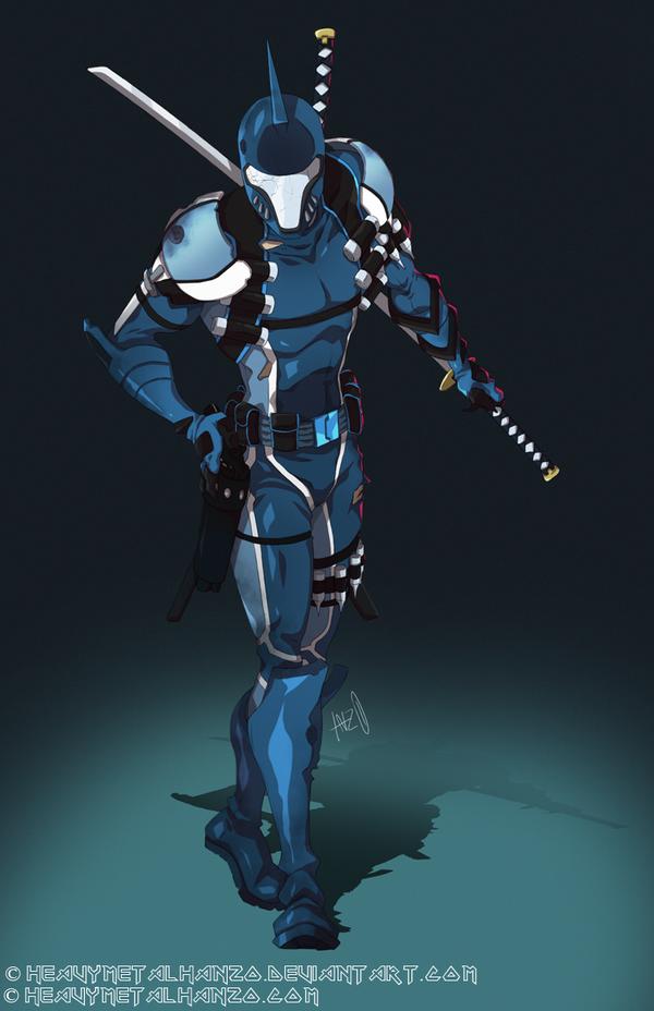 Blue Shadow by HeavyMetalHanzo