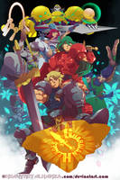 Guardian Heroes by HeavyMetalHanzo