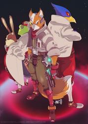 Team StarFox by HeavyMetalHanzo