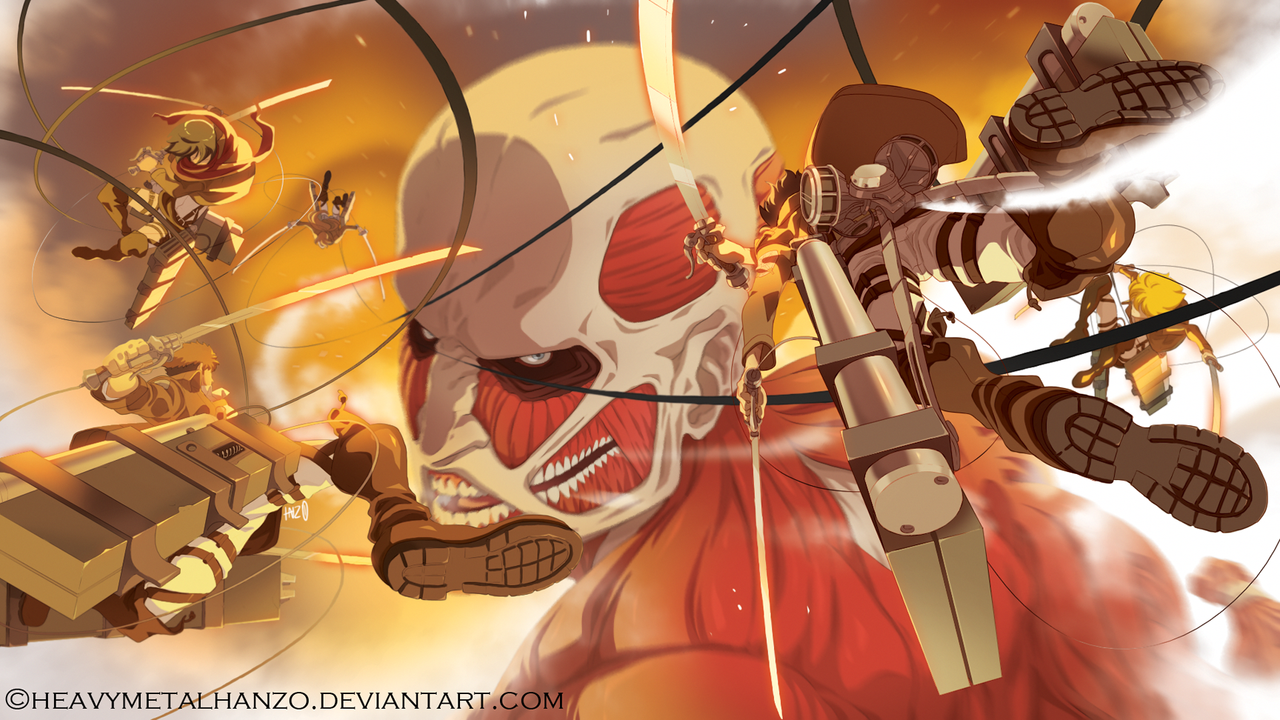 Attack on Titan by HeavyMetalHanzo