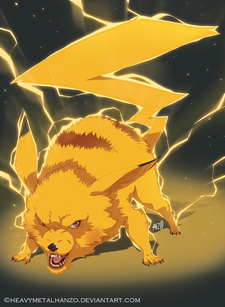 Pikachu by HeavyMetalHanzo