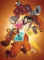 Power Stone - Go Falcon! by HeavyMetalHanzo