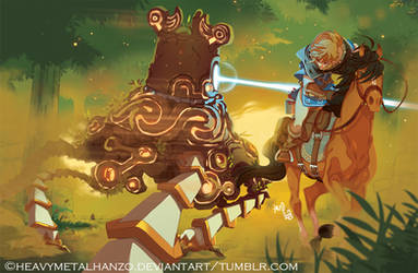 The Legend of Zelda-Breath Of The Wild by HeavyMetalHanzo