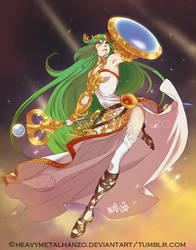 Lady Palutena by HeavyMetalHanzo