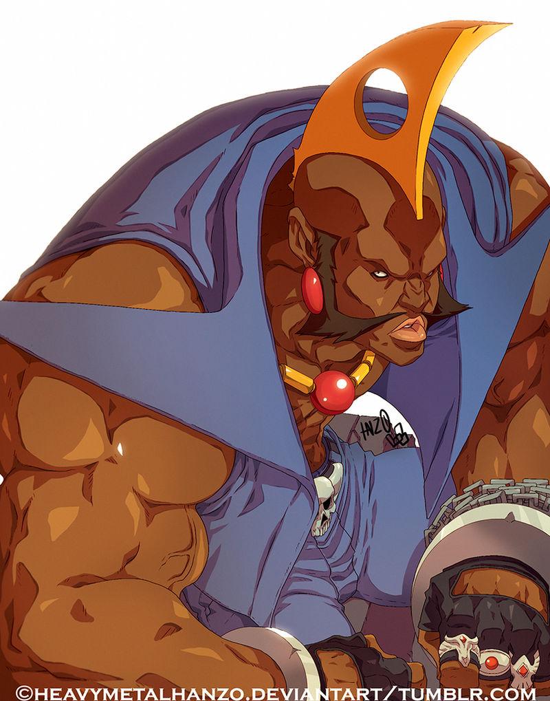 Street Fighter Alpha Birdie By Heavymetalhanzo On Deviantart