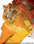 Capcom Fighting Tribute-Jin Saotome