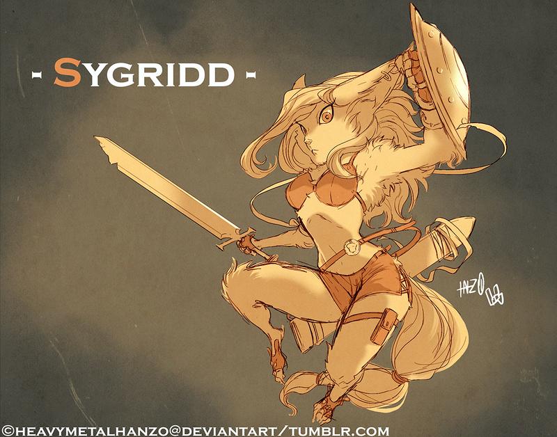 Sygridd by HeavyMetalHanzo