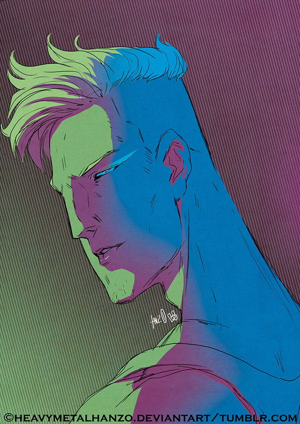 80's Dude by HeavyMetalHanzo